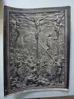 """Fotografia """"FIRENZE - Crocifissione Donatello MUSEO NAZIONALE""""  Edizioni Anderson, Roma Anni '30 - Luoghi"""
