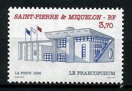 SPM MIQUELON 1995 N° 621 ** Neuf MNH Superbe C 2 €  Le Francoforum Bâtiments Publics - Neufs