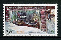SPM MIQUELON 1995 N° 623 ** Neuf MNH Superbe  C 1.70 € Noël Christmas Bateaux Boats Ships Vitrine - St.Pierre Et Miquelon