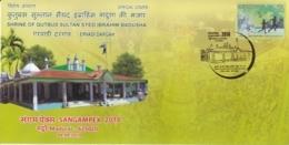 India 2018  Islam  Mausoleum  Shrine Of Qutbus Sultan Syed Ibrahim Badusha  Special Cover  #  15798  D  Inde Indien - Islam