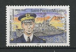 SPM MIQUELON 1996  N° 624 ** Neuf MNH Superbe  C 1.60 €  Jean Levasseur Bateaux Boats Ships Navire Transports - Neufs