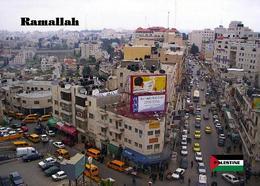 Palestine Ramallah Street View New Postcard Palästina AK - Palästina