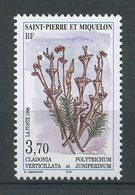 SPM Miquelon 1996 N° 626 ** Neuf MNH Superbe  C 2 €  Flore Flowers Mousses Et Lichens Cladonia Verticillata Polytrichum - St.Pierre Et Miquelon