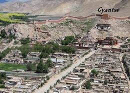 Tibet Gyantse Kumbum Aerial View New Postcard - Tibet