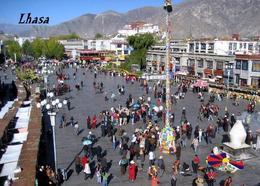 Tibet Lhasa Jokhang Square New Postcard - Tibet