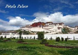 Tibet Lhasa Potala Palace UNESCO New Postcard - Tibet