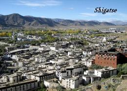Tibet Shigatse Aerial View New Postcard - Tibet