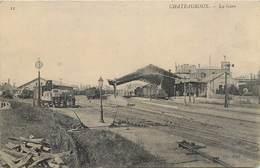 CPA 36 Indre Chateauroux La Gare Aiguillage Voies De Chemin De Fer Non Voyagée - Chateauroux
