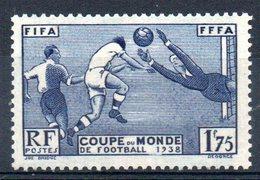 FRANCE - YT N° 396 - Neuf ** - MNH - Cote: 35,00 € - France