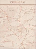 Vielsalm Grand Halleux St Vith Bovigny ... - Cartes Géographiques