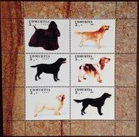 Udmurtia 2003 Dogs Minisheet MNH - Perros