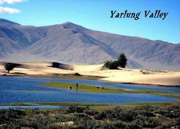 Tibet Yarlung Valley New Postcard - Tibet