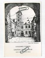 Ecaussinnes D'Enghien : Chateau De La Follie       (   15 X 10.5  Cm ) - België