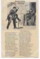 "STOLTZE-POSTKARTE  ""DIE BLUTBLAS""    ~ 1910 - Humour"