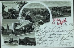 Clair De Lune Cp Diez An Der Lahn Rheinland Pfalz, Kloster Arnstein, Dom Zu Limburg, Schloss - Otros