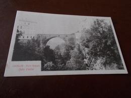 B732  Chatillon Ponte Romano Cm14x9 Non Viaggiata - Altre Città