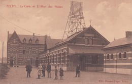 619 Feluy La Gare Et L Hotel Des Postes - Belgium