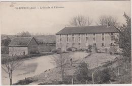 10  Chaource  Le Moulin Et L'armance - Chaource
