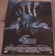 AFFICHE CINEMA ORIGINALE FILM LA PLANETE DES SINGES Tim BURTON Mark WAHLBERG Tim ROTH 2001 - Affiches & Posters
