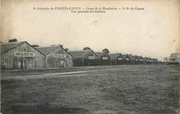 CPA 36 Indre Chateauroux Aviation Camp De La Martinerie 3e Régiment De Chasse Vue Générale Ateliers Aerodromes Militaria - Chateauroux
