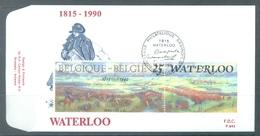 BELGIQUE - 16.6.1990 - FDC - WATERLOO  - COB 2376 - Lot 20108 - FDC
