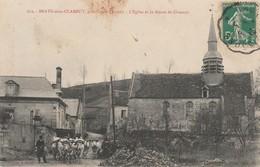 02 BRAYE Sous CLAMECY N°612 Près CROUY Soissons L'Eglise Route De Clamecy Beau Troupeau De Vaches Ou Boeufs Avec Joug - Soissons
