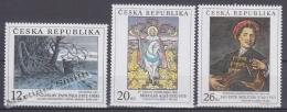 Czech Republic - Tcheque 2002 Yvert 318/ 20, Art Works - MNH - Tchéquie