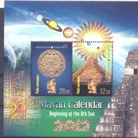 2012. Kyrgyzstan, The Mayan Calendar, S/s Perforated, Mint/** - Kirgisistan