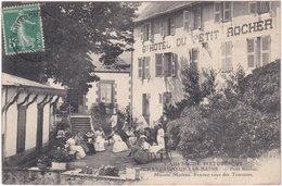63. CHATEAUNEUF-LES-BAINS. Petit Rocher. Maison Moreau. Rendez-vous Des Touristes - Otros Municipios