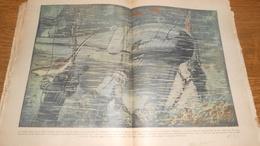 Drame Du Sous Marin Squalus Sauvetage Par La Cloche De Plongée Du Falcon 1939 Dessin De Gignoux + Texte - Non Classificati