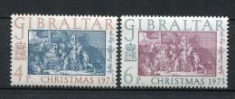 Gibraltar 1973. Yvert 301-02 ** MNH. - Gibilterra