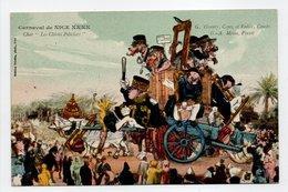 - CPA NICE (06) - Carnaval XXXX - Char Les Chiens Policiers - Edition Giletta - - Carnevale