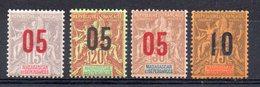 MADAGASCAR - YT N° 111 à 114 - Neufs ** - MNH - Cote: 24,75 € - Neufs