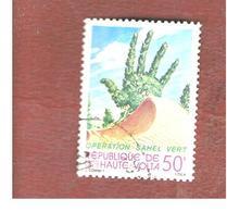 "ALTO VOLTA  (UPPER VOLTA) - SG 561  -  1980  OPERATION ""GREEN SAHARA""               -  USED - Alto Volta (1958-1984)"