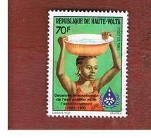 ALTO VOLTA  (UPPER VOLTA) - SG 660  -  1983  INT. DRINKING WATER  DECADE            -  USED - Alto Volta (1958-1984)