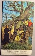 1964 Calendario Missionario AISEN CILE Auguri Di Buon Natale E Felice Anno Nuovo - Calendari