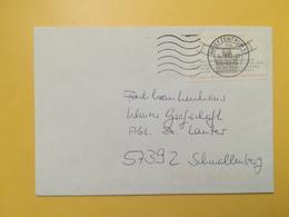 2001 BUSTA GERMANIA DEUTSCHE BOLLO BUNDESVERFASSUNGSGERICHT ANNULLO BRIEFZENTRUM 57 GERMANY - [7] Repubblica Federale