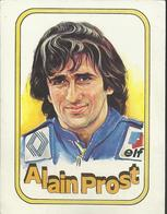 Autocollant - Vignette Panini - Alain Prost - Panini