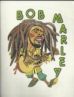 Autocollant - Vignette Panini - Bob Marley - Panini