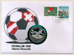 SUISSE / Ordre De MALTE - Pièce De 100 Lires Sous Blister/ Euro 2008 - Football Championship S/enveloppe Fussball-EM - Malte (Ordre De)