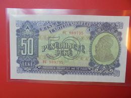 ALBANIE 50 LEKE 1957 PEU CIRCULER/NEUF (B.5) - Albania