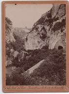 Le Val De Fier   Route De Rumilly  Photo Cartonnée   16.5 Cm  X 12 Cm - Photographie
