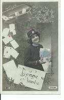 Factrice    A Voyagé En 1910  Cachet De La Poste De Leuze - Poste & Facteurs