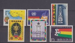 Ghana 6v ** Mnh (44014) - Ghana (1957-...)