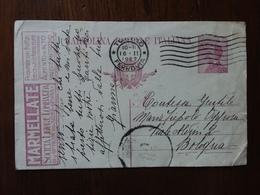 REGNO - Cartolina Postale Pubblicitaria - Marmellate - Viaggiata (piega Angolo) + Spese Postali - 1900-44 Victor Emmanuel III.