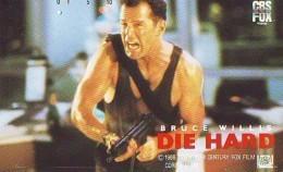 Télécarte Japon / 110-011 - CINEMA - DIE HARD  (4202) BRUCE WILLIS * Japan FILM Movie Phonecard - Kino TK - Cinéma