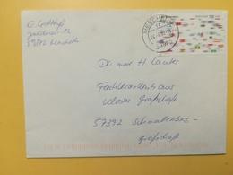 2002 BUSTA GERMANIA DEUTSCHE BOLLO UNI WELTKONGRESS ANNULLO MESCHEDE GERMANY - [7] Repubblica Federale