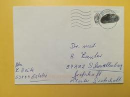 2002 BUSTA GERMANIA DEUTSCHE BOLLO CROSTACEI ANNULLO BRIEFZENTRUM 59 GERMANY - [7] Repubblica Federale