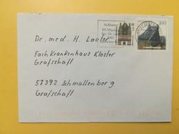 2002 BUSTA GERMANIA DEUTSCHE BOLLO DRESDEN ANNULLO BRIEFZENTRUM 57 ETICHETTA GERMANY - [7] Repubblica Federale
