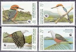 MICROMESIA     SCOTT NO. 106-9      MNH    YEAR  1990 - Micronesia